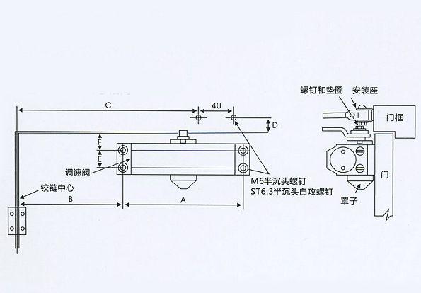闭门器有哪几种?闭门器调节方法图解枣庄